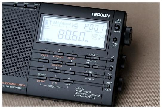 pl-660全波段数字调谐收音机全球同步上市!