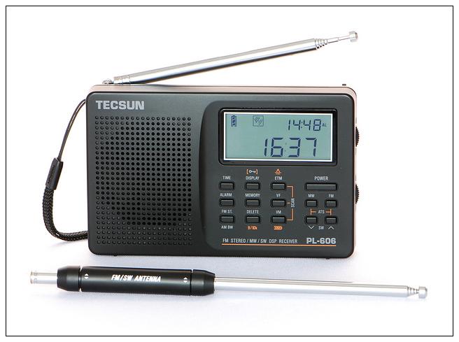 Жизни PL-606 Tecsun/Германия полностью Номер диапазона волны слово Студент стереофонического звука демодулирования...