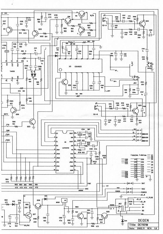 我有1101的电路图,但因我的广坛图片空间没了