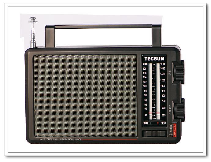 r308高灵敏度调频/调幅收音机
