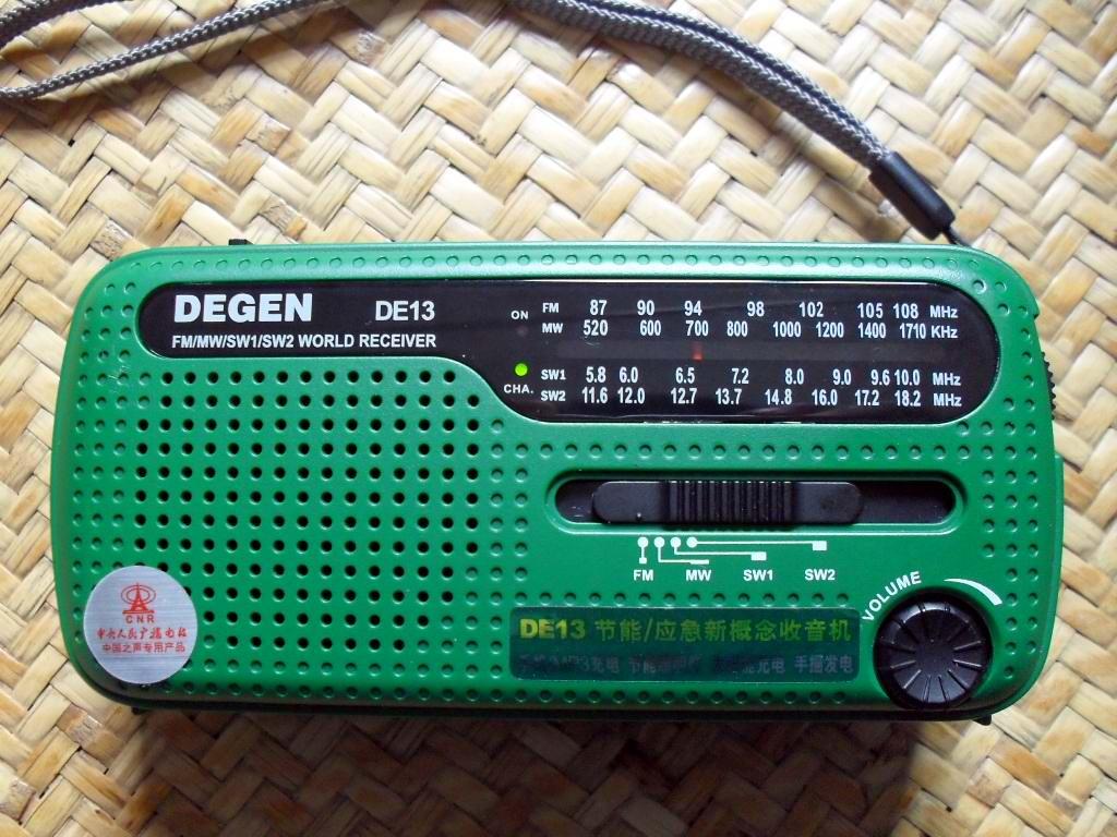 收音机和调频发射器!