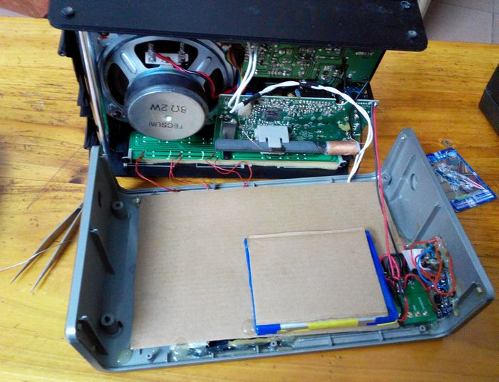 平板电脑收银机的组装步骤图片