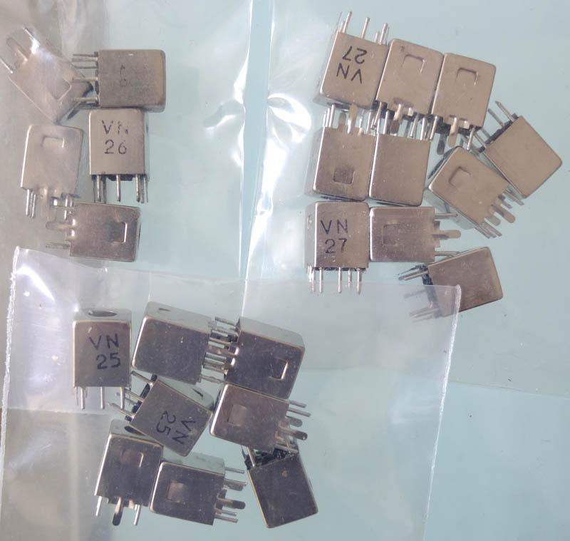 其他元件到好半,无非是电阻电容晶体管和集成电路,但中周却不象过去