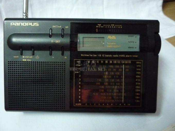 周末人多,出华谱r96t 收音机,功能全好,60元包邮!